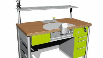 engineering-dental-laboratory-system-flexspace-green-schlagheck-design