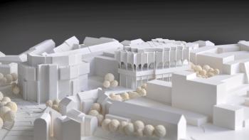 3d-architekturmodell-gasteig-muenchen-mit-umgebung-peter haimerl-architektur-schlagheck-design-oberhaching