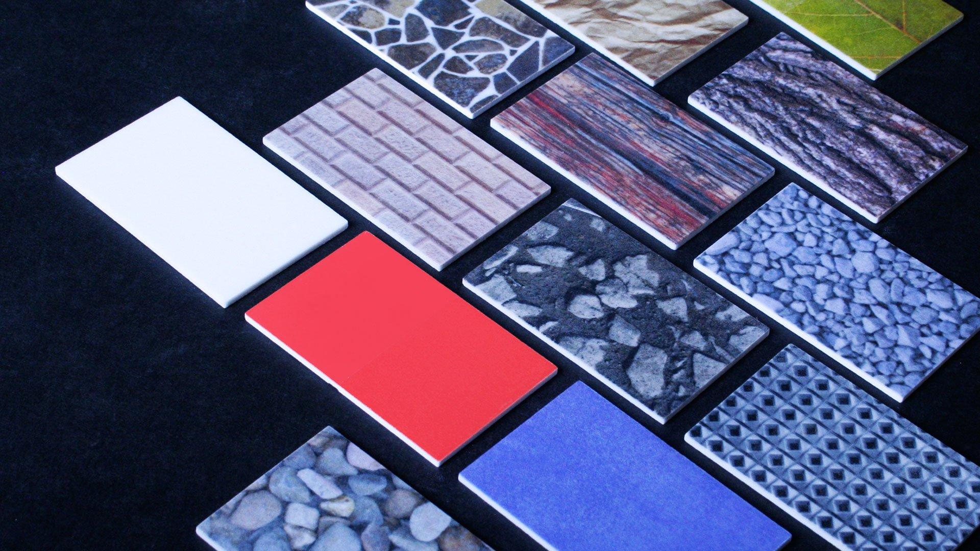 Farben und Materialien | Schlagheck Design | Design Oberflächen