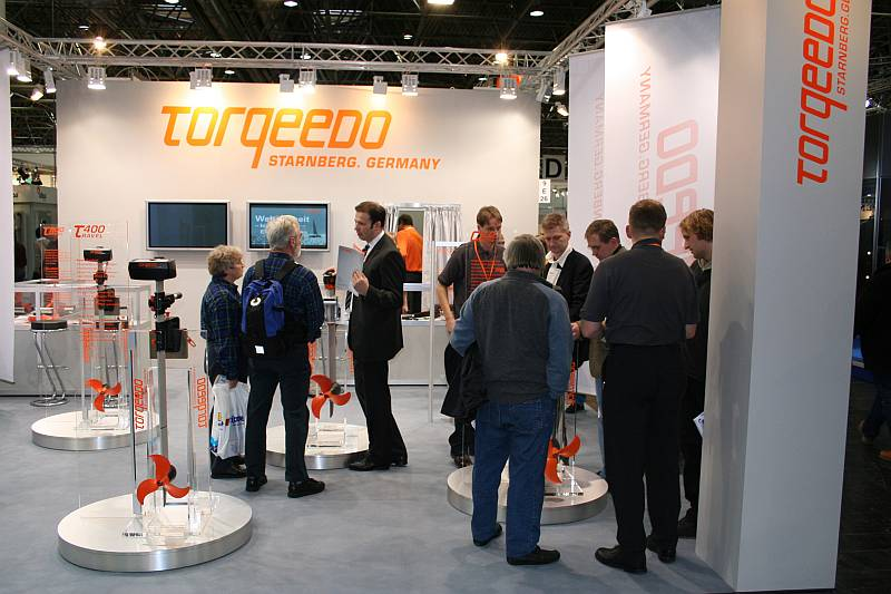 Corporate Design Trade Show Design Torqeedo Bootsmesse Düsseldorf Schlagheck Corporate Design Agentur München